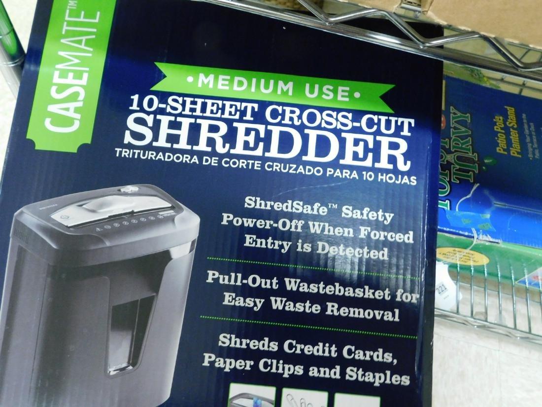 NIB CASEMATE 10 SHEET SHREDDER - 2