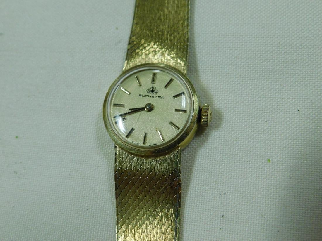 BUCHERER GOLD TONE LADIES WATCH - 2