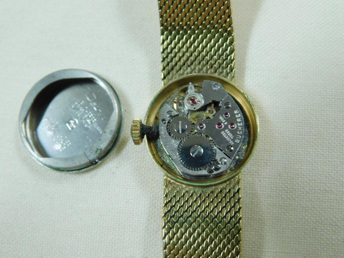 BUCHERER GOLD TONE LADIES WATCH - 7