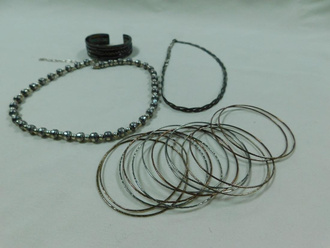 VARIOUS 925 SILVER JEWELRY