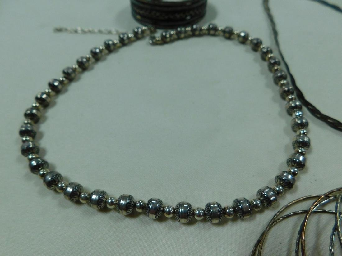 VARIOUS 925 SILVER JEWELRY - 2