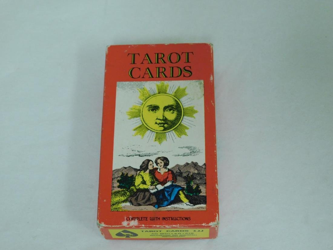 VINTAGE TAROT CARDS SWITZERLAND