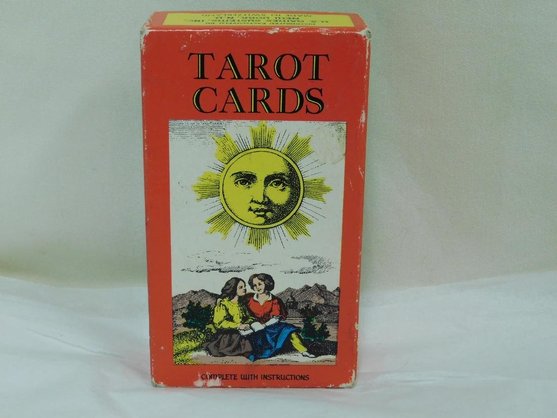 VINTAGE TAROT CARDS SWITZERLAND - 2