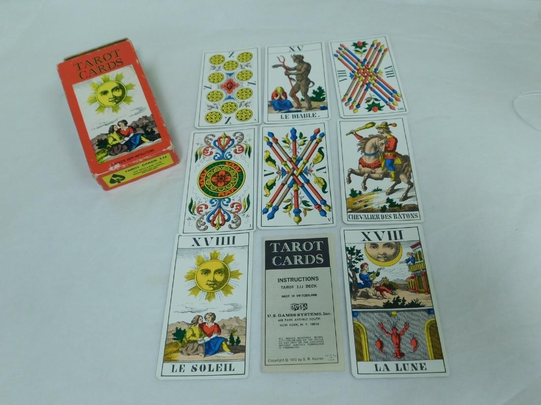 VINTAGE TAROT CARDS SWITZERLAND - 4