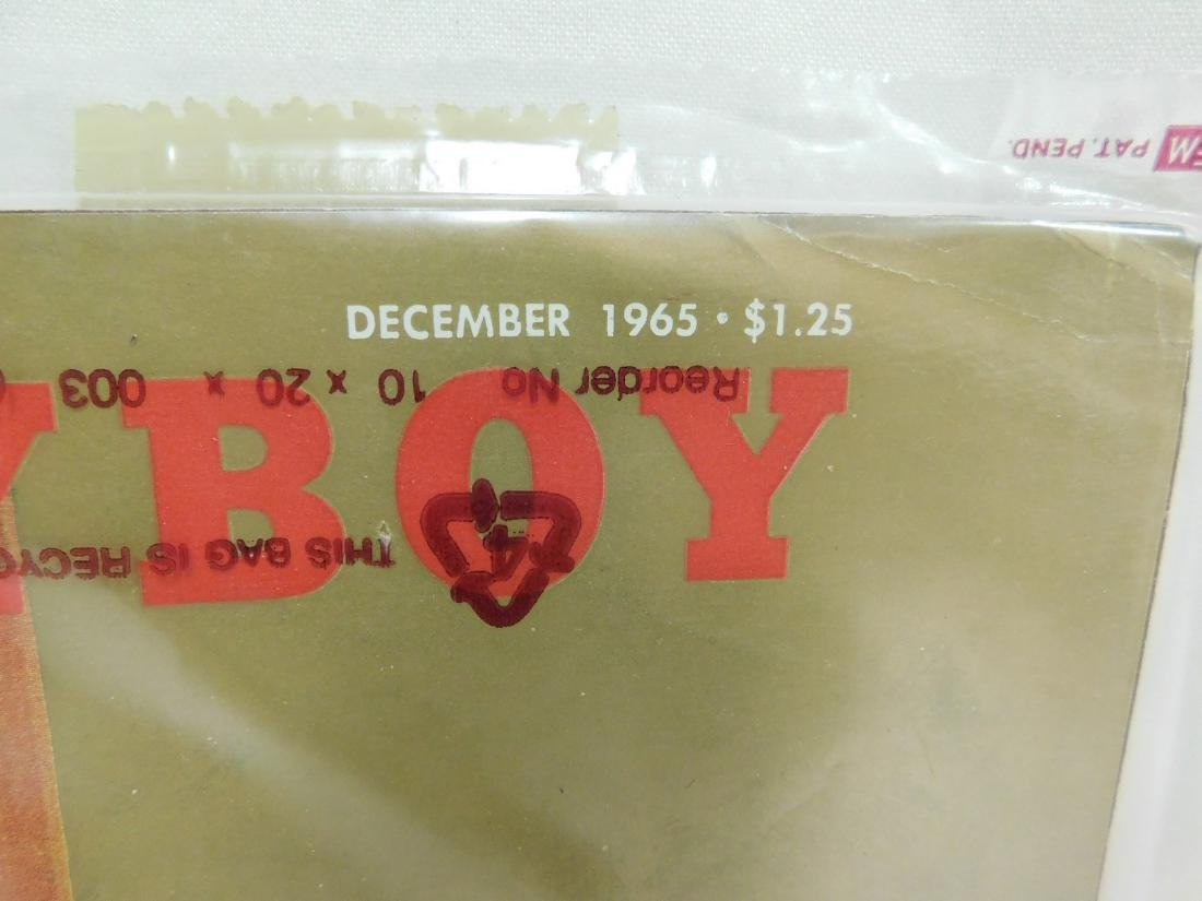4 VINTAGE 1965 PLAYBOY MAGAZINES - 9