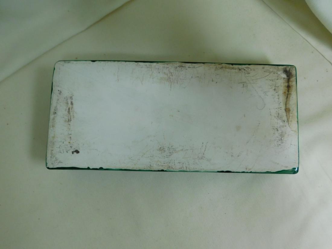 CERAMIC DRAGON LIDDED BOX - 4