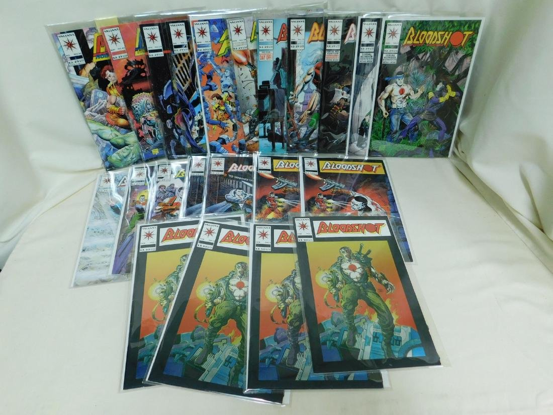 23 VALIANT COMICS