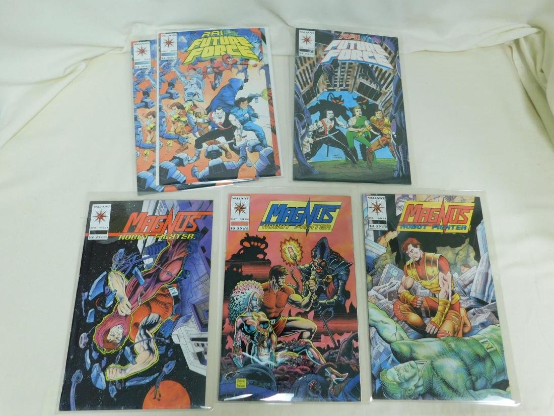 23 VALIANT COMICS - 5