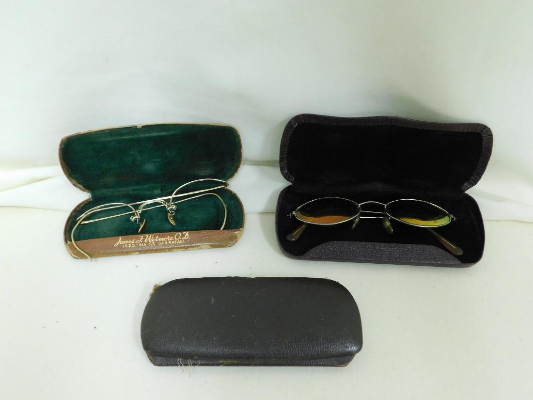 ANTIQUE GLASSES & CASES