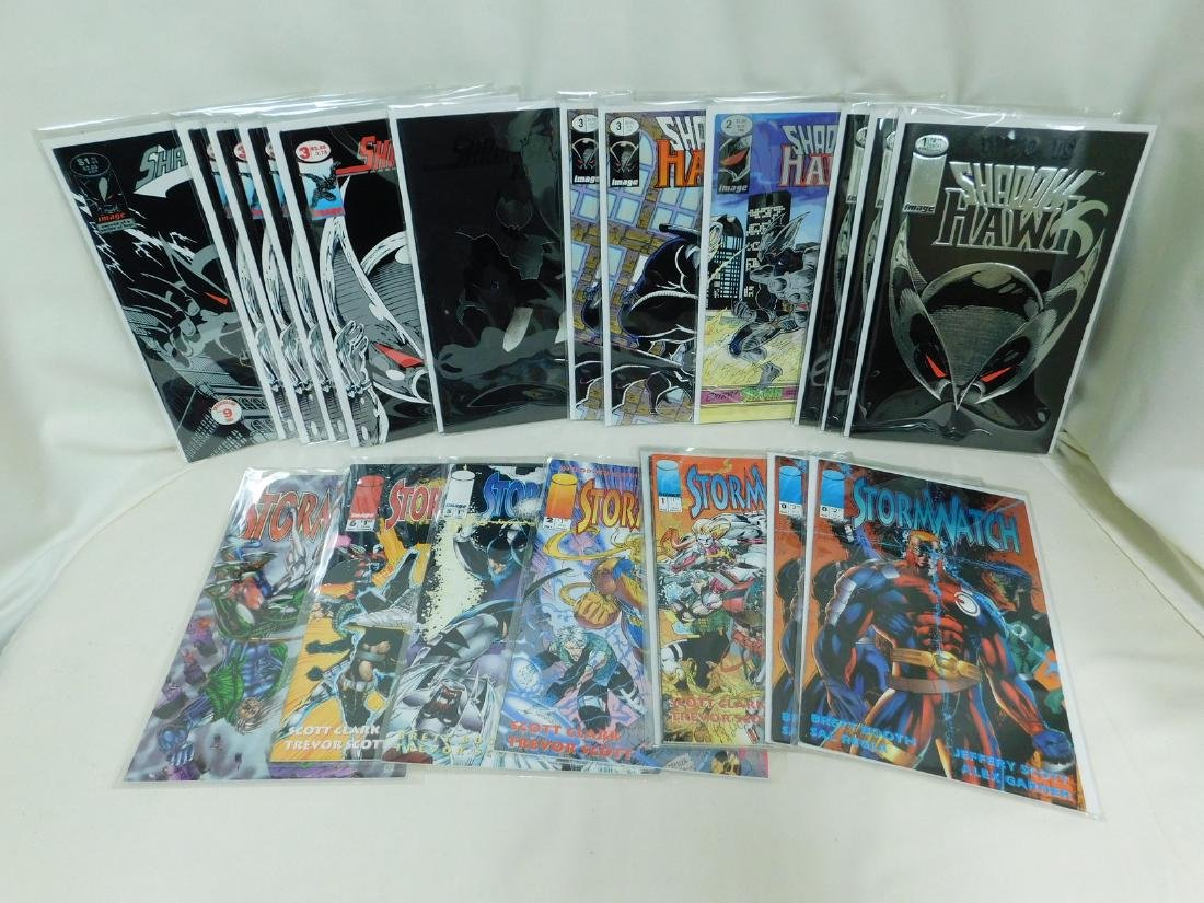 20 IMAGE COMICS -STORMWATCH  SHADOW HAWK