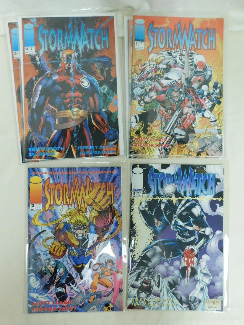 20 IMAGE COMICS -STORMWATCH  SHADOW HAWK - 2