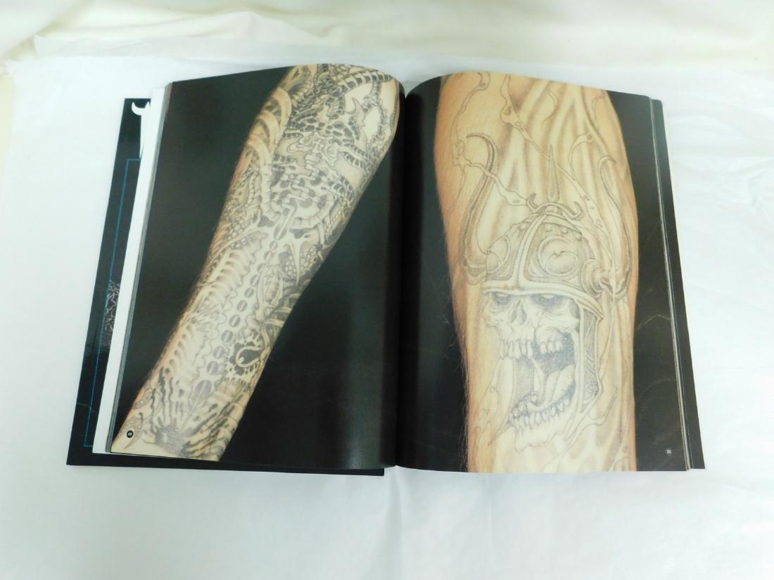 6 TATOO PICTORIAL BOOKS - 4