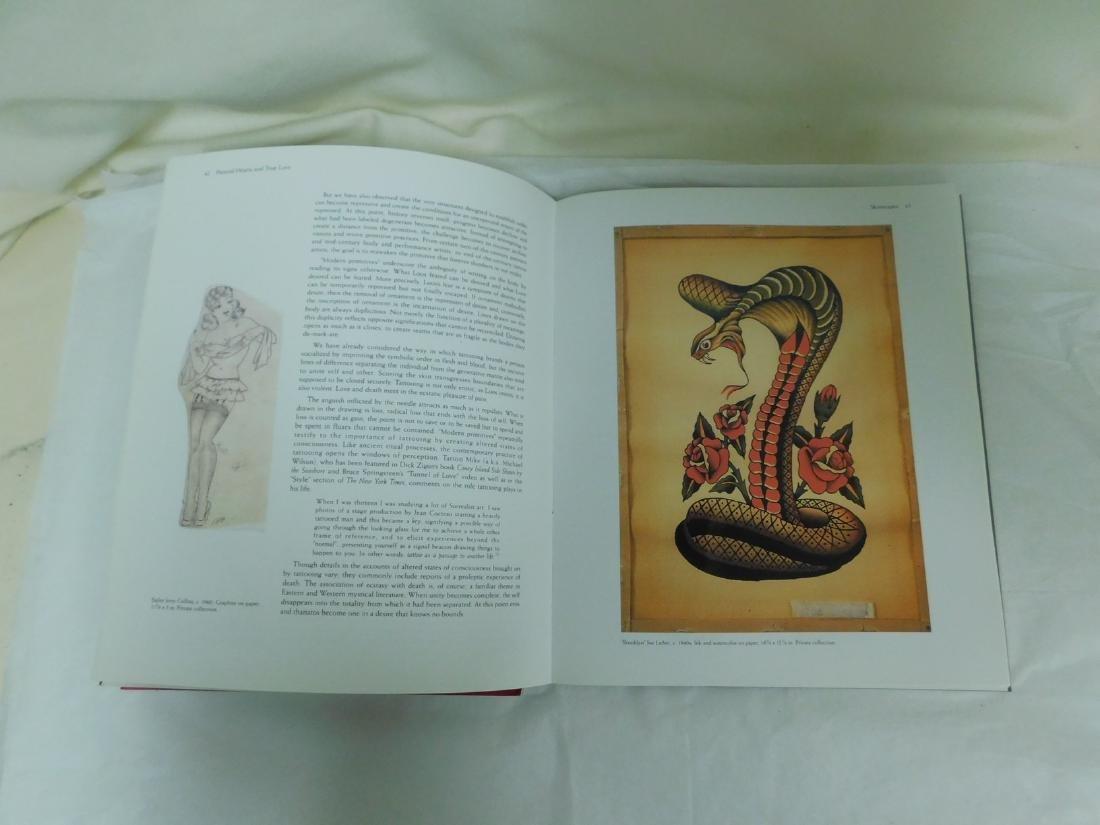 6 TATOO PICTORIAL BOOKS - 6
