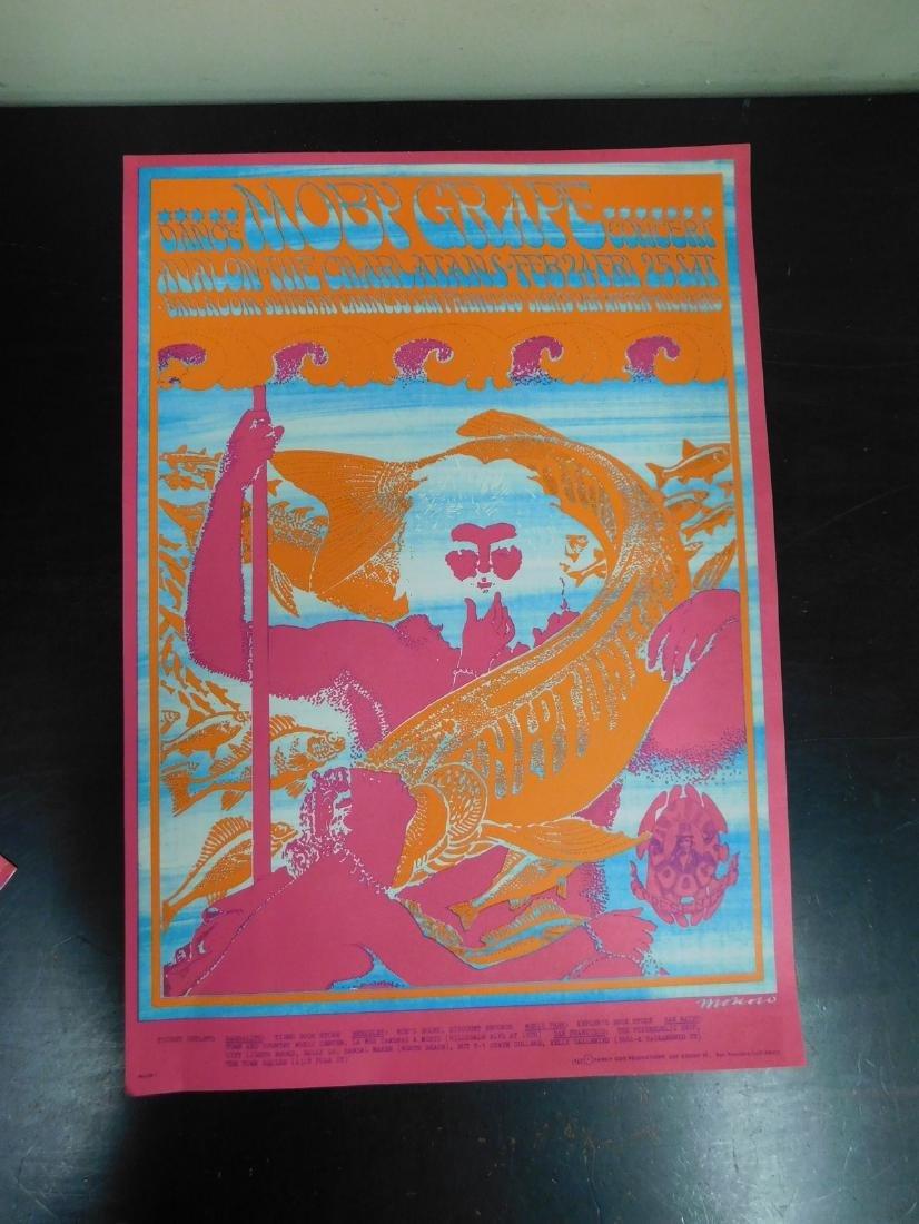 1967 ORIGINAL MOBY GRAPE CONCERT POSTER & MORE - 3