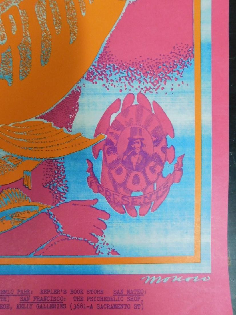 1967 ORIGINAL MOBY GRAPE CONCERT POSTER & MORE - 4