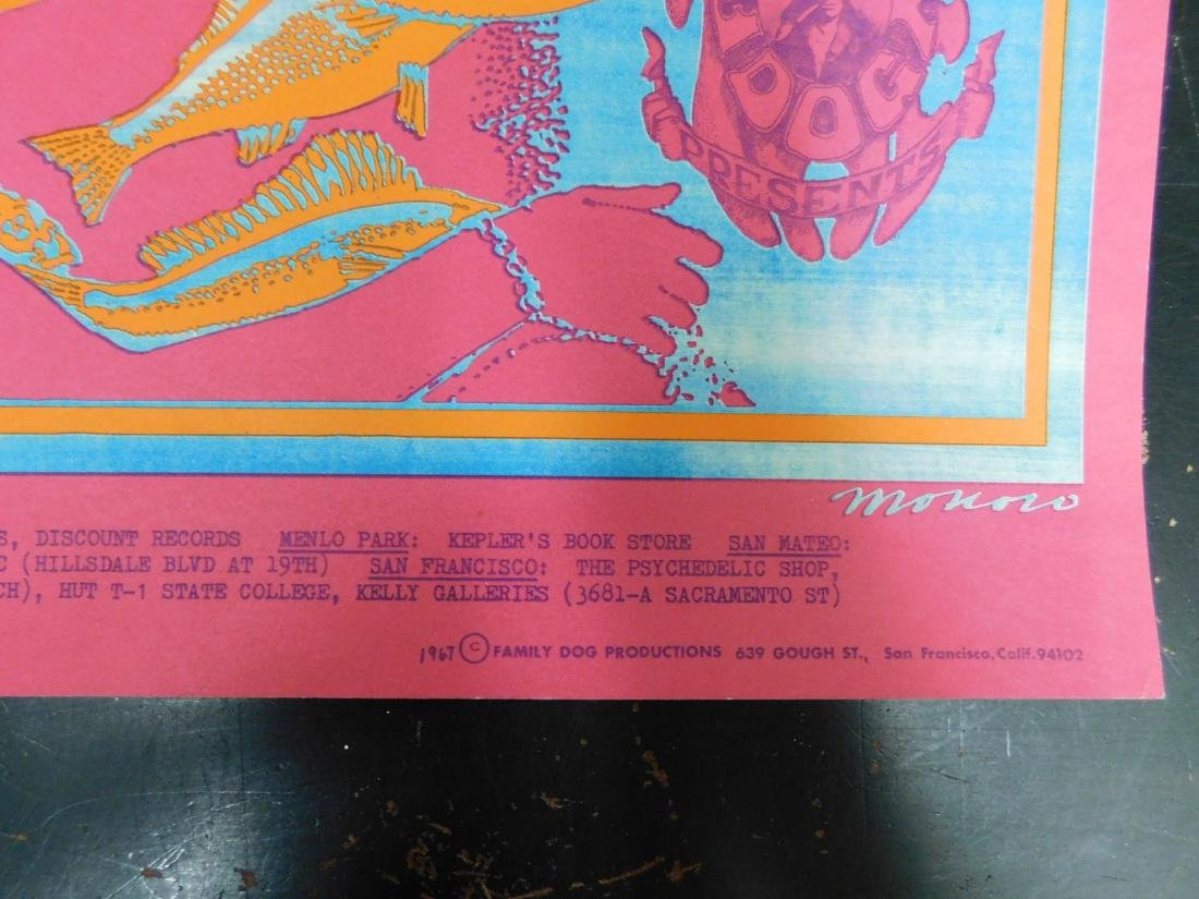 1967 ORIGINAL MOBY GRAPE CONCERT POSTER & MORE - 5