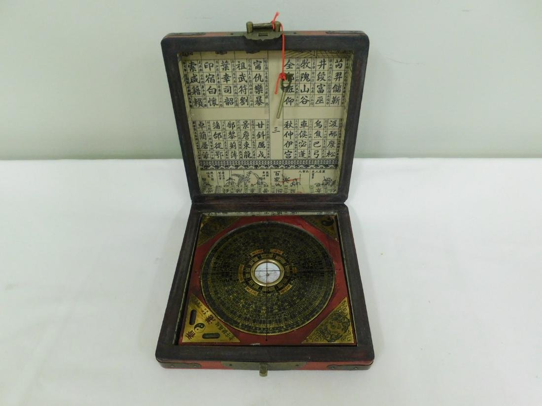 ASIAN COMPASS IN CASE