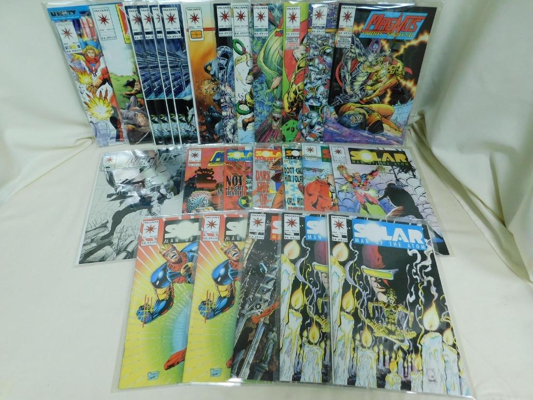 25 VALIANT COMIC BOOKS