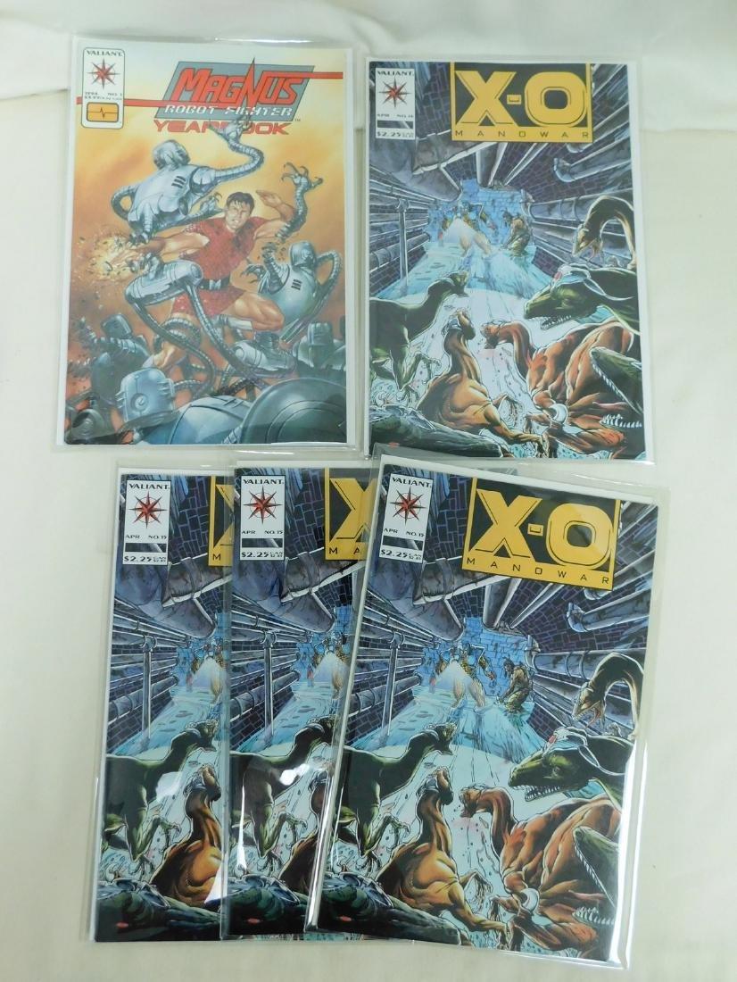 25 VALIANT COMIC BOOKS - 6