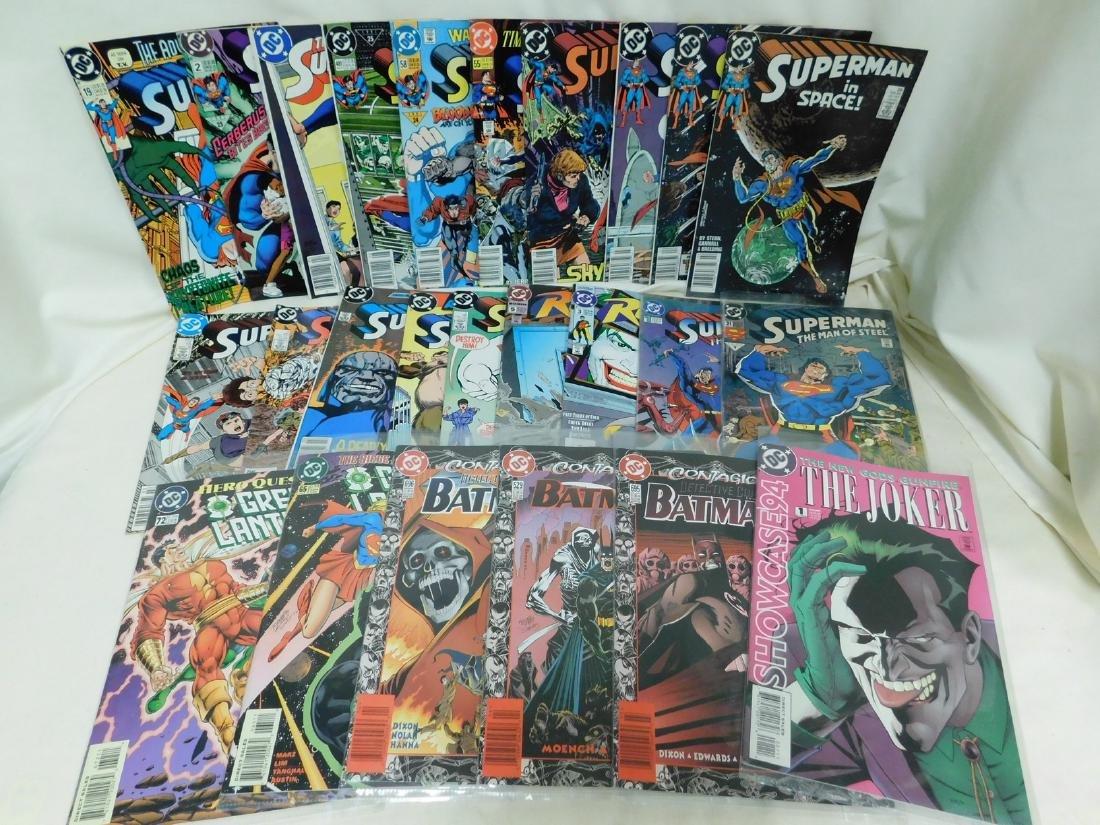 VARIOUS DC COMICS