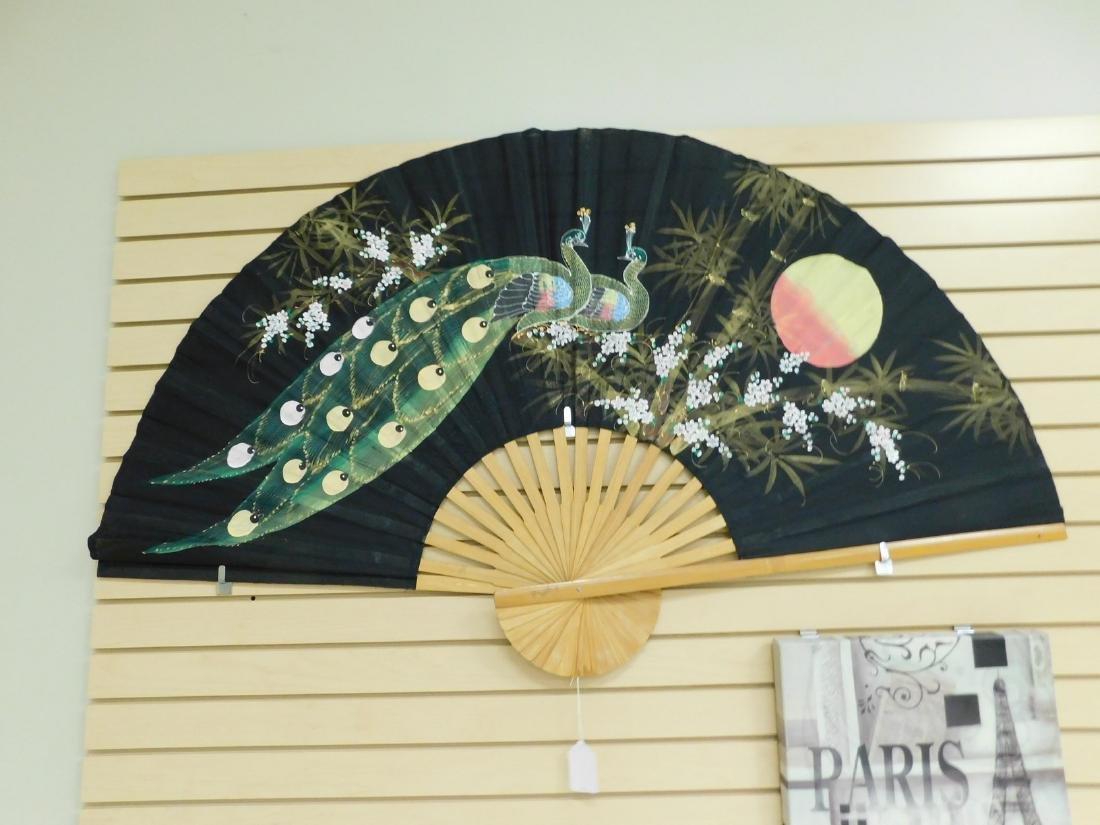 LARGE SILK FAN