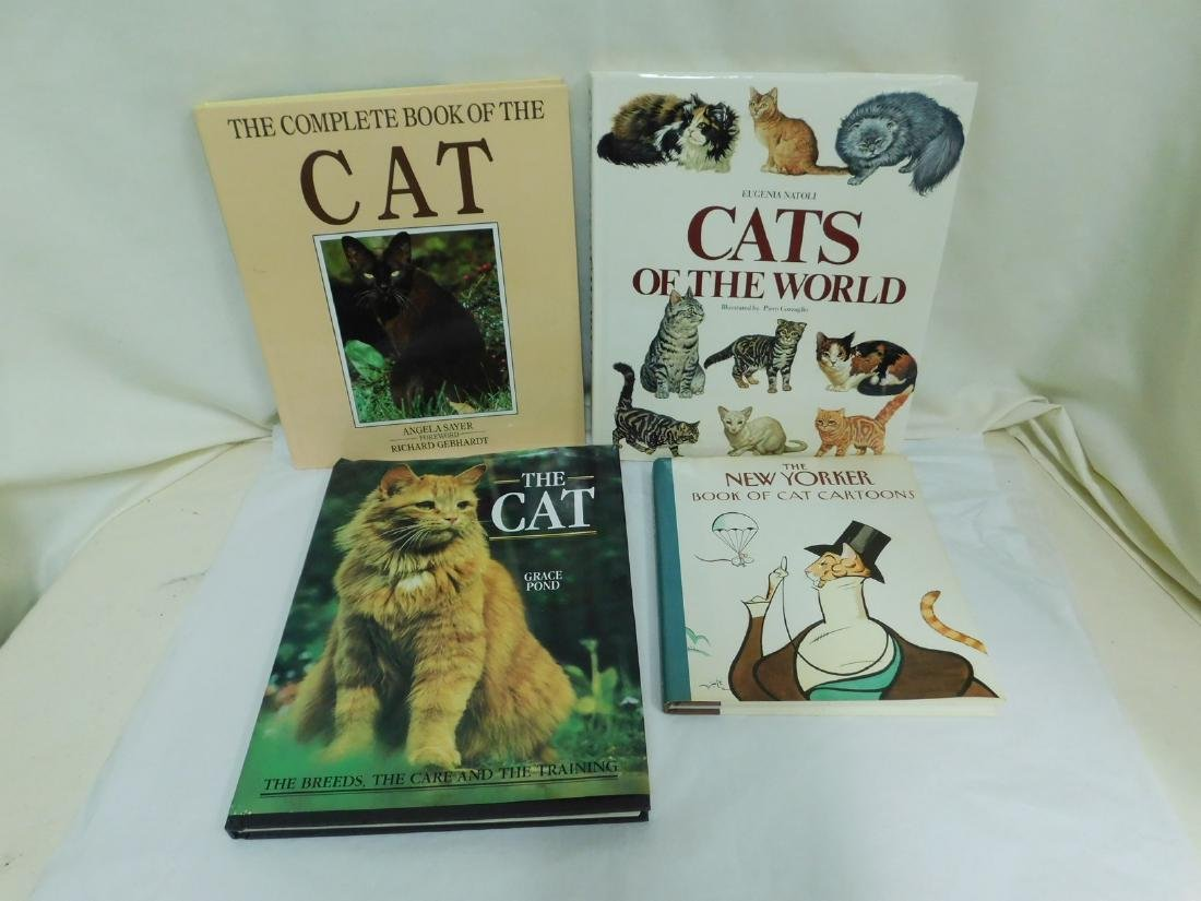 COFFEE TABLE CAT BOOKS