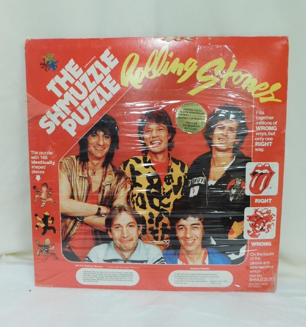 1983 ROLLING STONE SHMUZZLE PUZZLE & PIN - 3