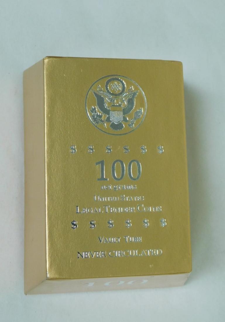 US LEGAL TENDER COINS 100 NET GRAMS