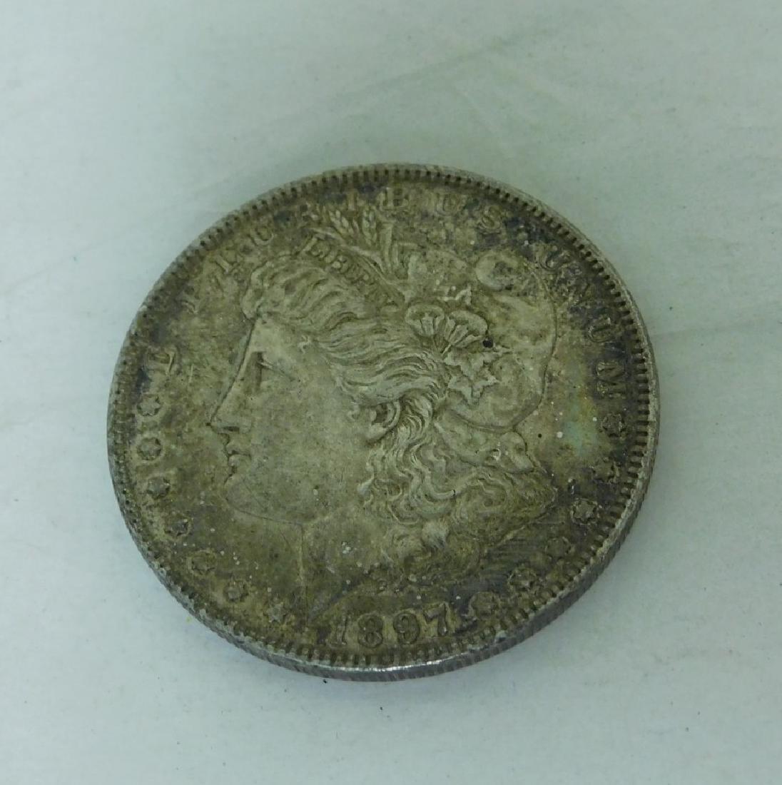 1897 SILVER MORGAN DOLLAR