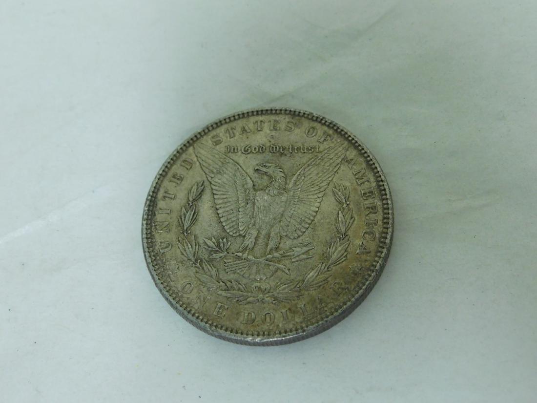 1897 SILVER MORGAN DOLLAR - 2