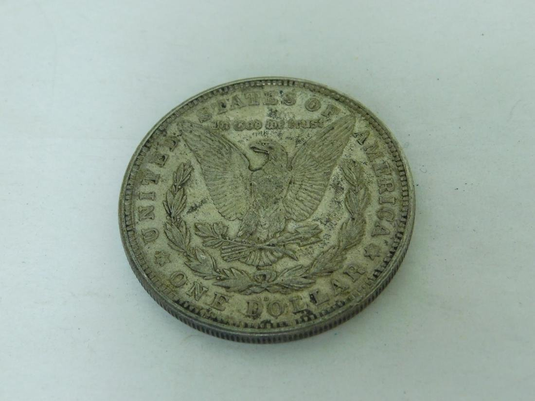 1921D MORGAN SILVER DOLLAR - 2