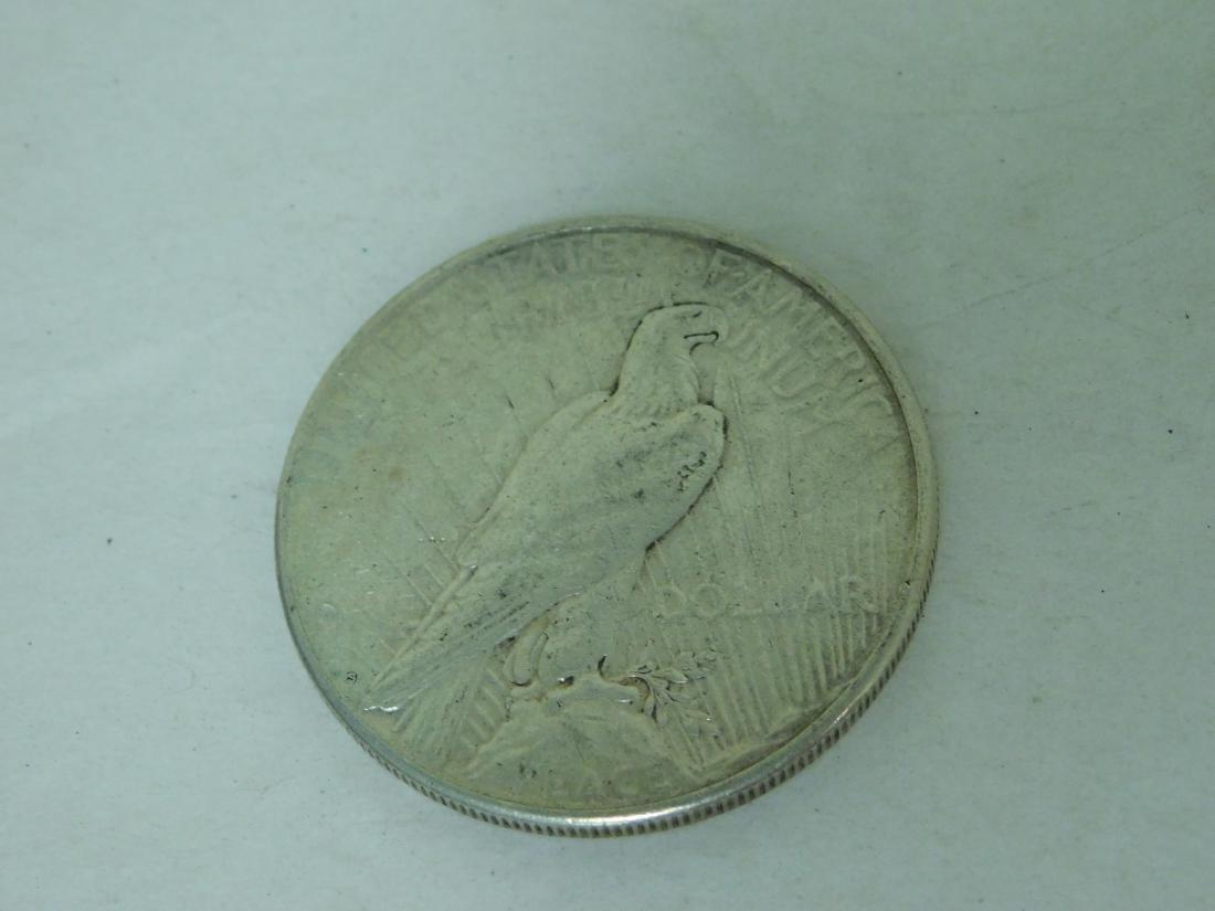 1923S PEACE SILVER DOLLAR - 3