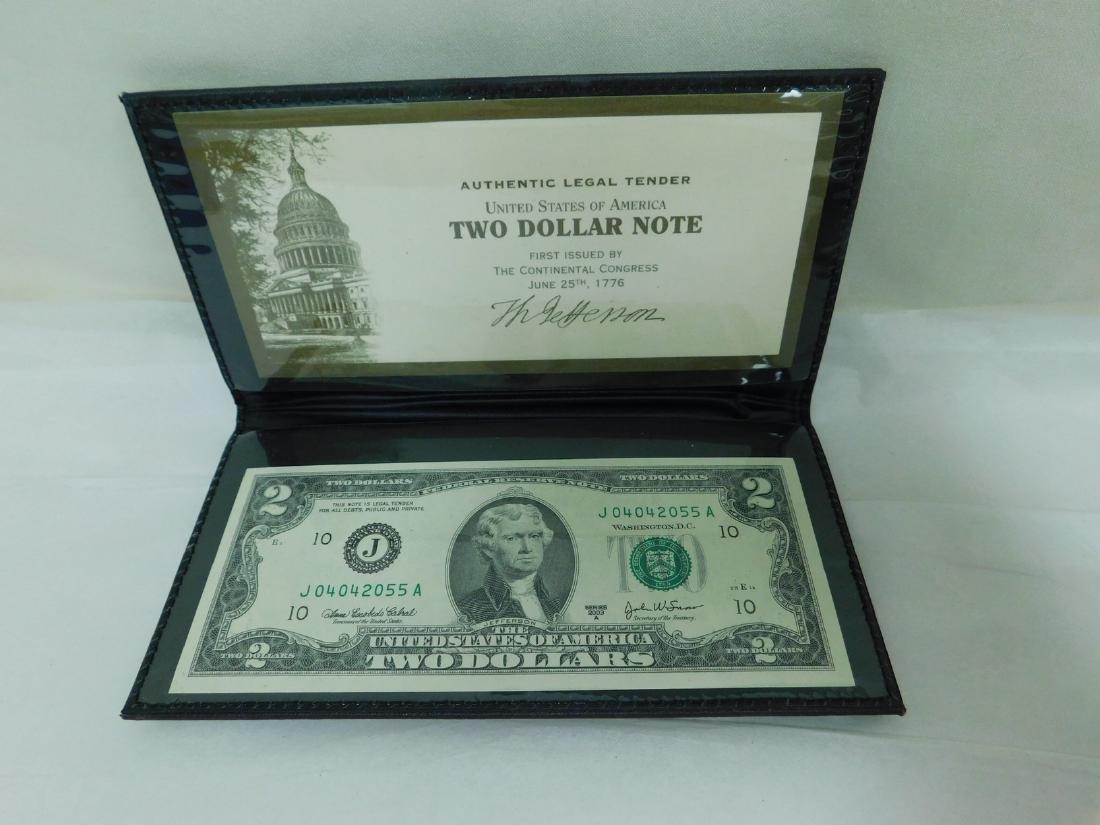 FOUR 2003A $2 WORLD RESERVE BILLS - 2