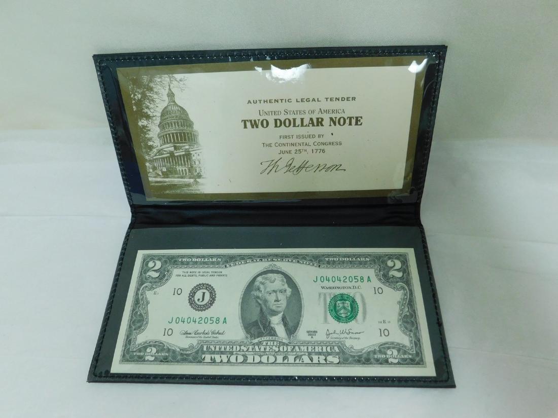 FOUR 2003A $2 WORLD RESERVE BILLS - 3