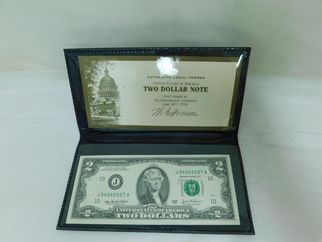 FOUR 2003A $2 WORLD RESERVE BILLS - 5