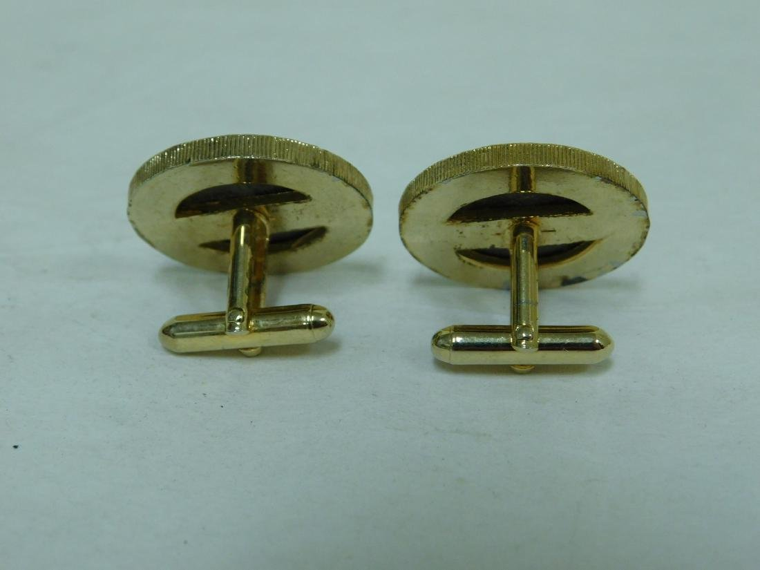 MIXED COIN LOT-COIN CUFF LINKS-HOLDERS & NECKLACE - 6