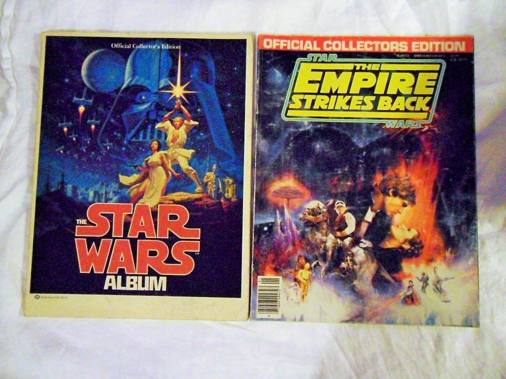 STAR WARS COLLECTOR GUIDE FIRST PRINTING AND EMPIRE SB