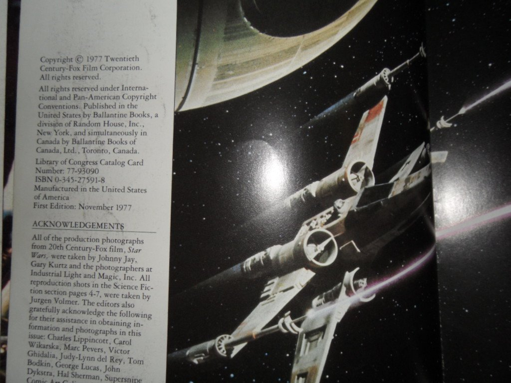 STAR WARS COLLECTOR GUIDE FIRST PRINTING AND EMPIRE SB - 5