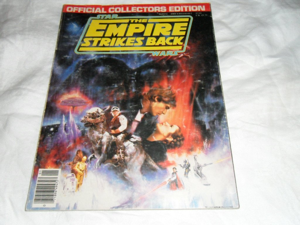 STAR WARS COLLECTOR GUIDE FIRST PRINTING AND EMPIRE SB - 6