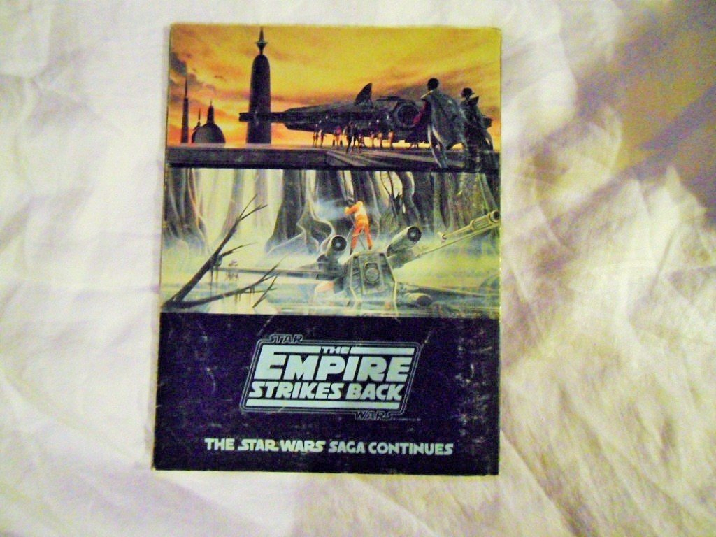 STAR WARS COLLECTOR GUIDE FIRST PRINTING AND EMPIRE SB - 7
