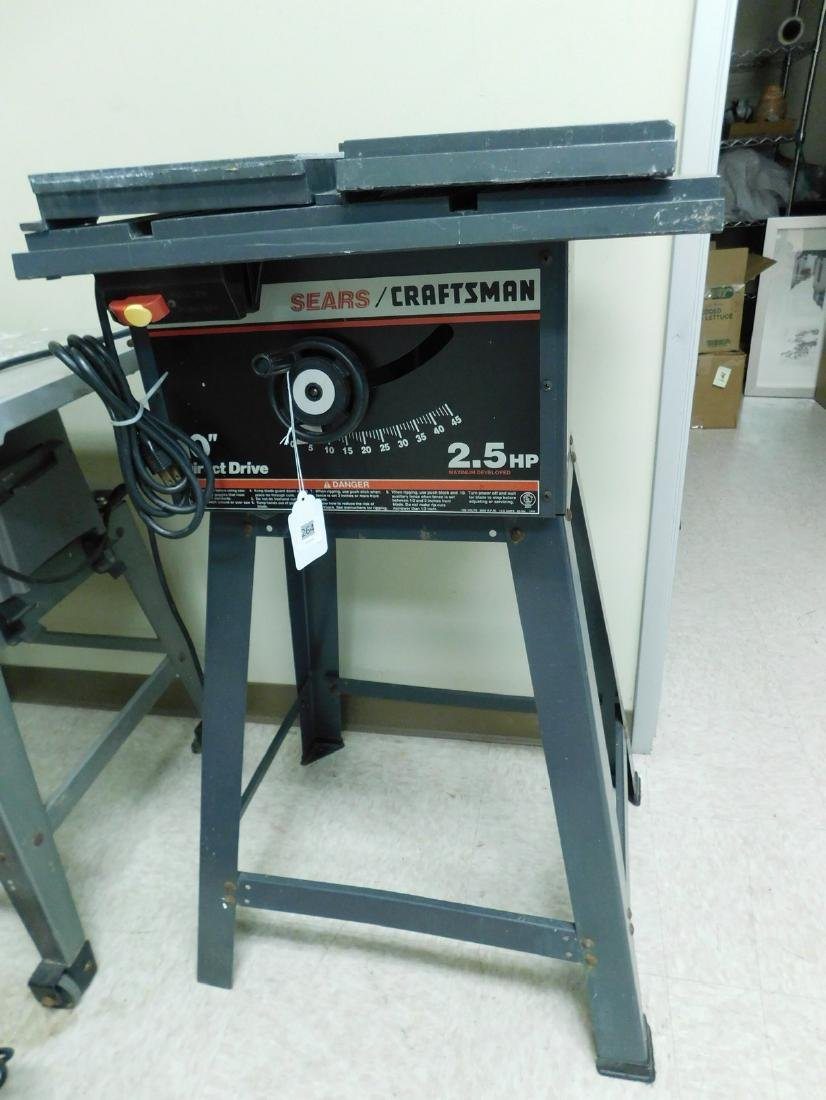 CRAFTSMAN 10 INCH DIRECT DRIVE TABLE SAW
