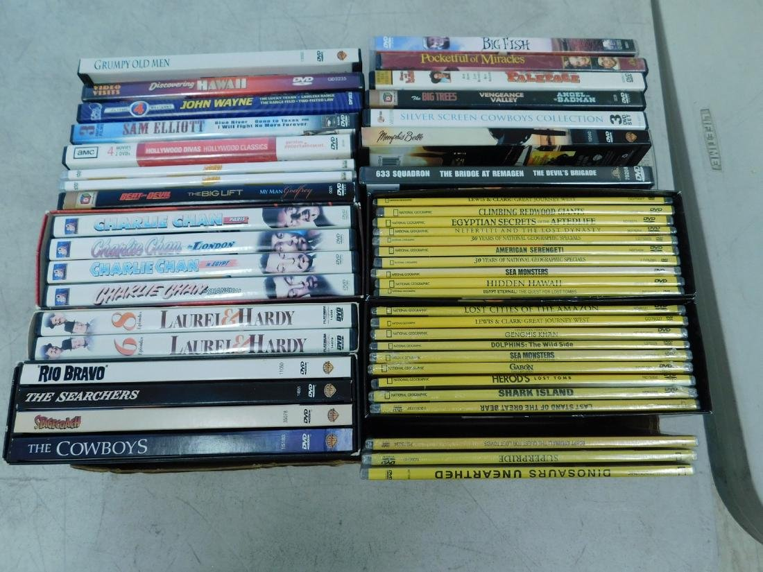 NATIONAL GEOGRAPHIC DVDS & MORE