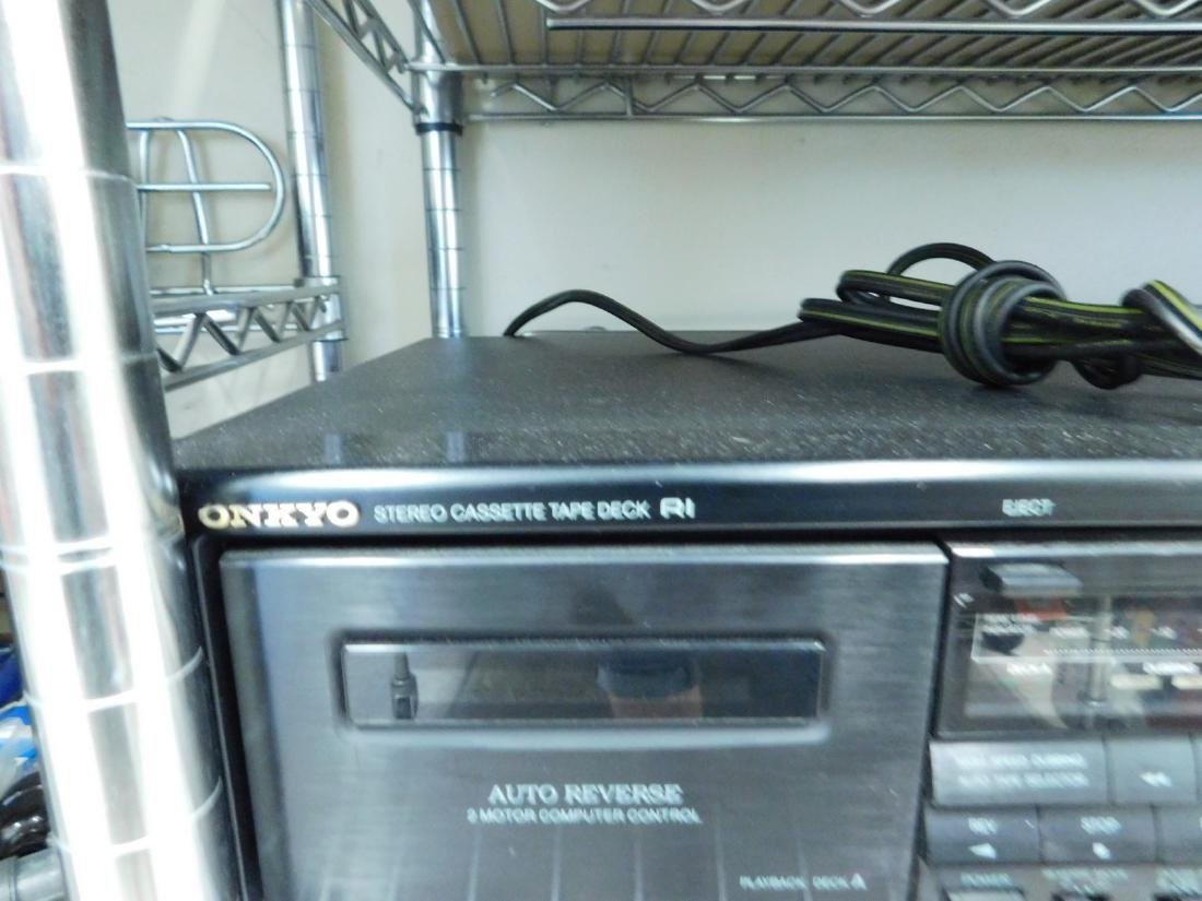 ONKYO CASSETTE PLAYER - DVDS & MORE - 2
