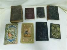 8 ANTIQUE BOOKS