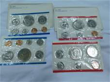 4  1974 UNCIRCULATED COIN SETS