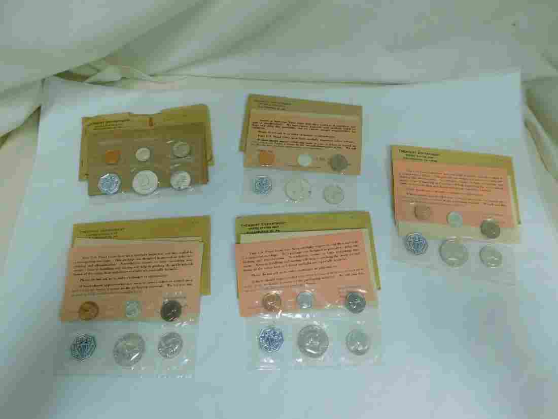 1960-1964 PHILADELPHIA UNCIRCULATED MINT COINS