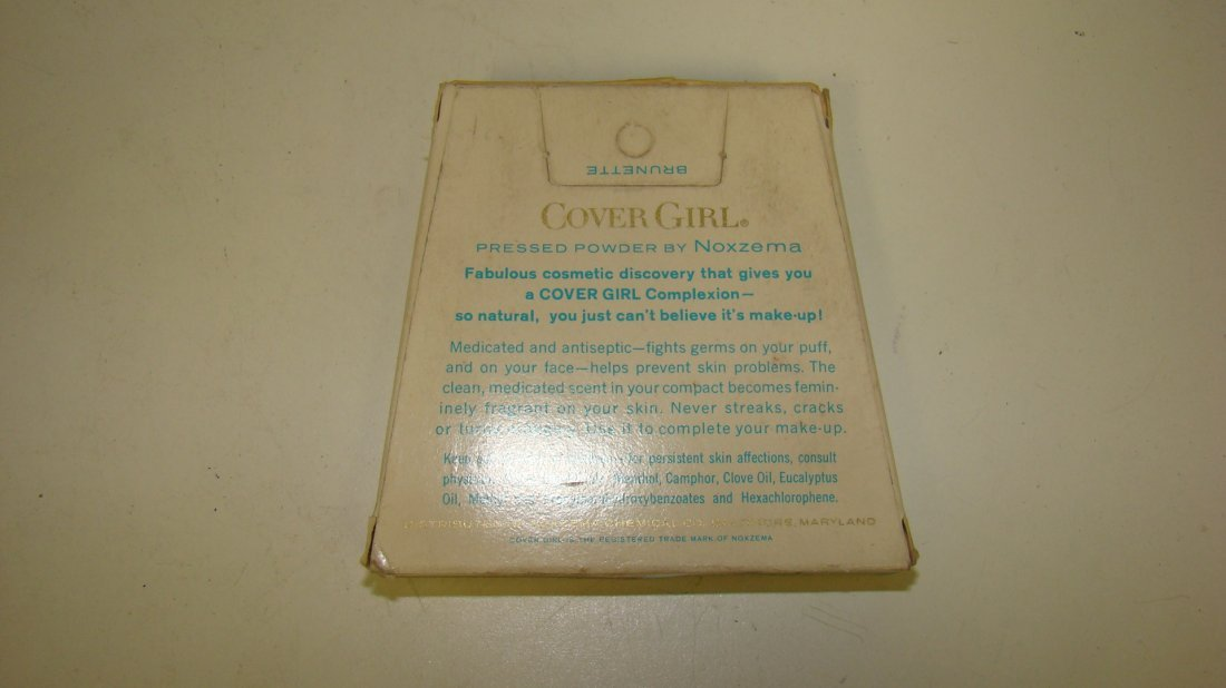 VINTAGE ARMAND CLEANSING CREAM & COVER GIRL COMPACT - 3