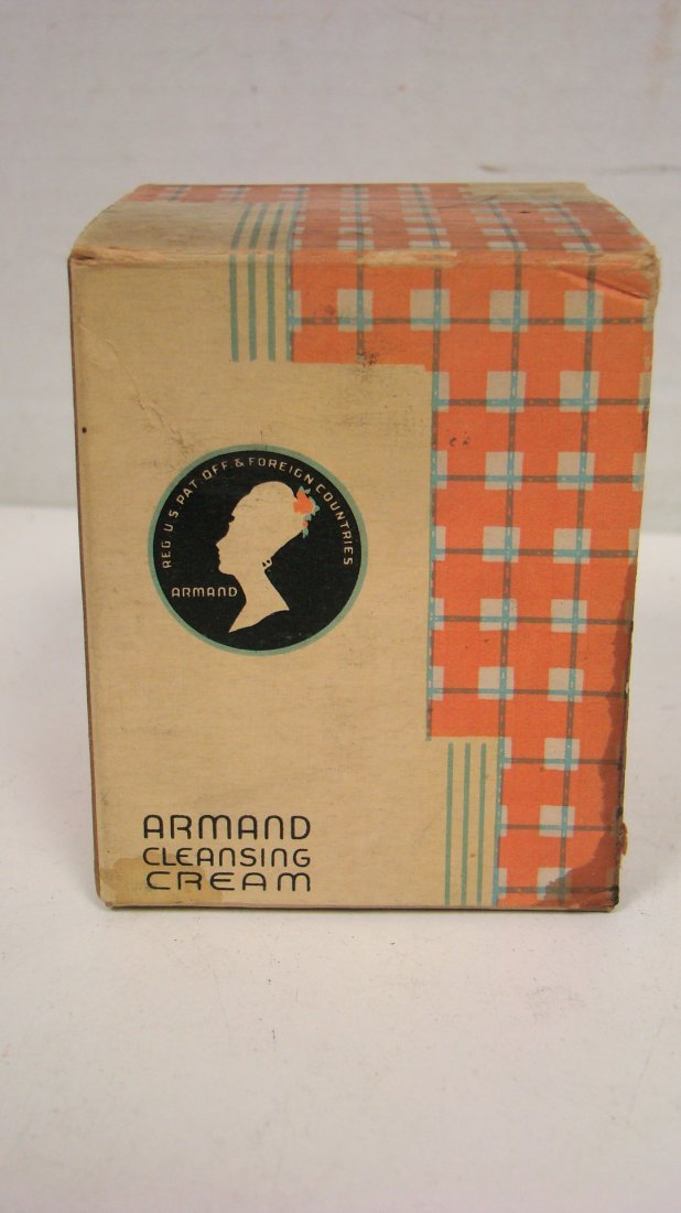 VINTAGE ARMAND CLEANSING CREAM & COVER GIRL COMPACT - 6