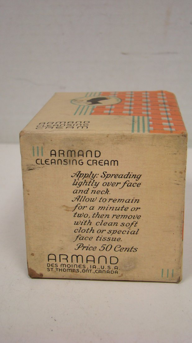 VINTAGE ARMAND CLEANSING CREAM & COVER GIRL COMPACT - 7