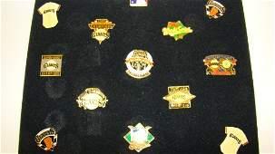 13 SAN FRANCISCO GIANTS TEAM PINS